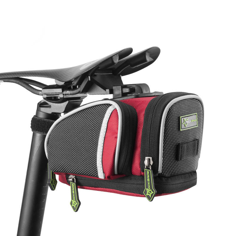 ROCKBROS Cycling Saddle Bag Mountain Road Bike Bicycle MTB Seat Post Bag Fixed Gear