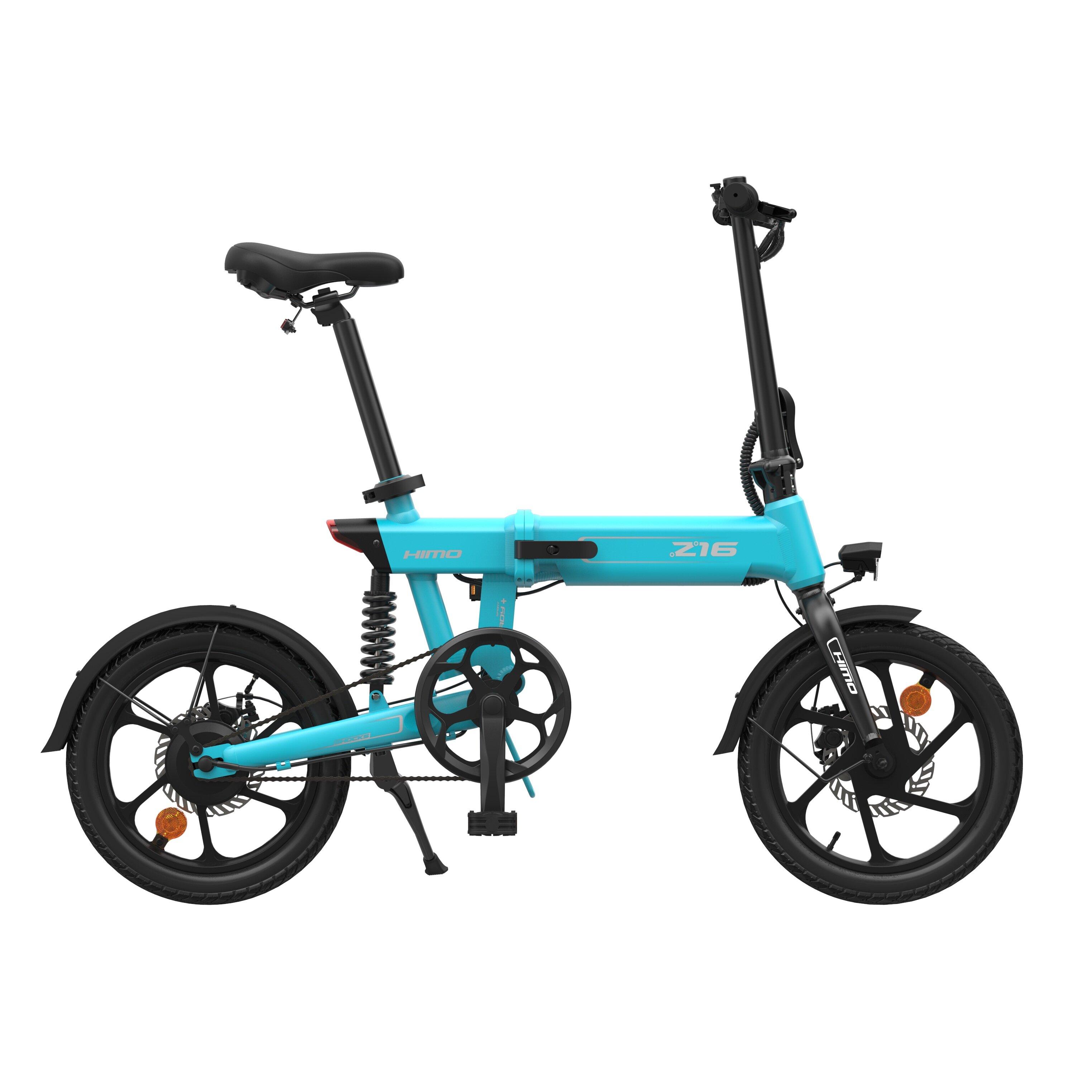 [EU Direct] HIMO Z16 10Ah 36V 250W Moped Electric Bike Folding Bike 25km/h Max Speed 80km Mileage Max Load 100kg 3 Modes Youpin