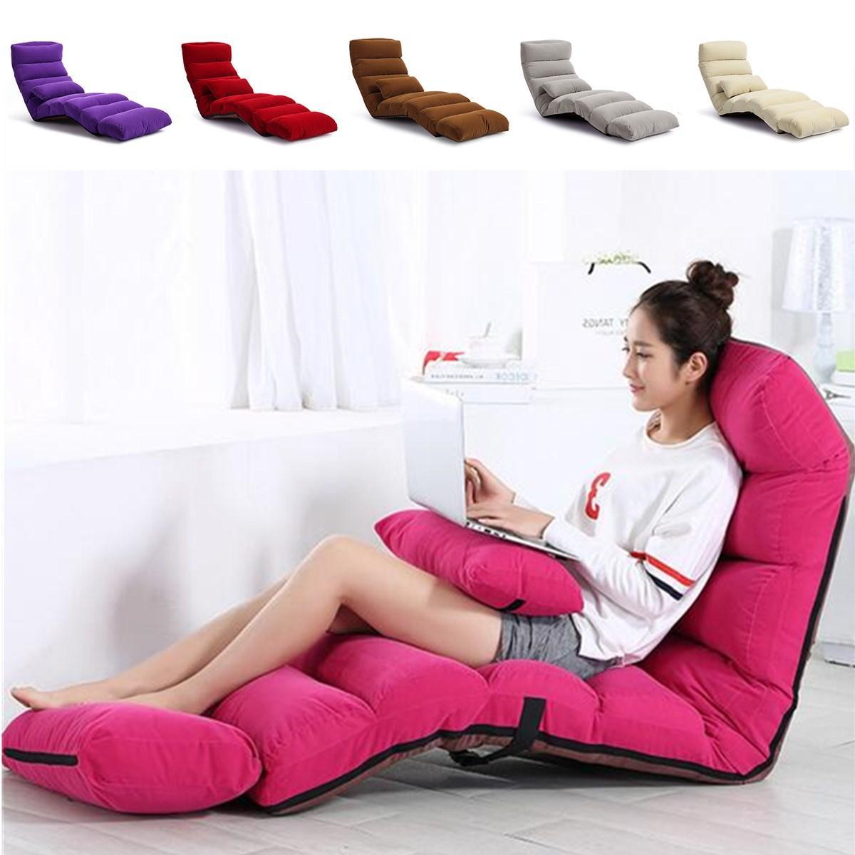 205cm 3 Folding Lazy Sofa Chair