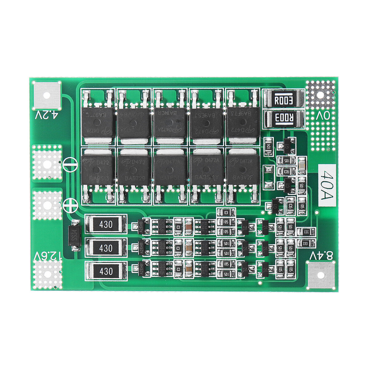 3S 40A Li-ion Lithium Battery Charger Protection Board PCB BMS For Drill  Motor 11 1V 12 6V Lipo Cell Module With Balance