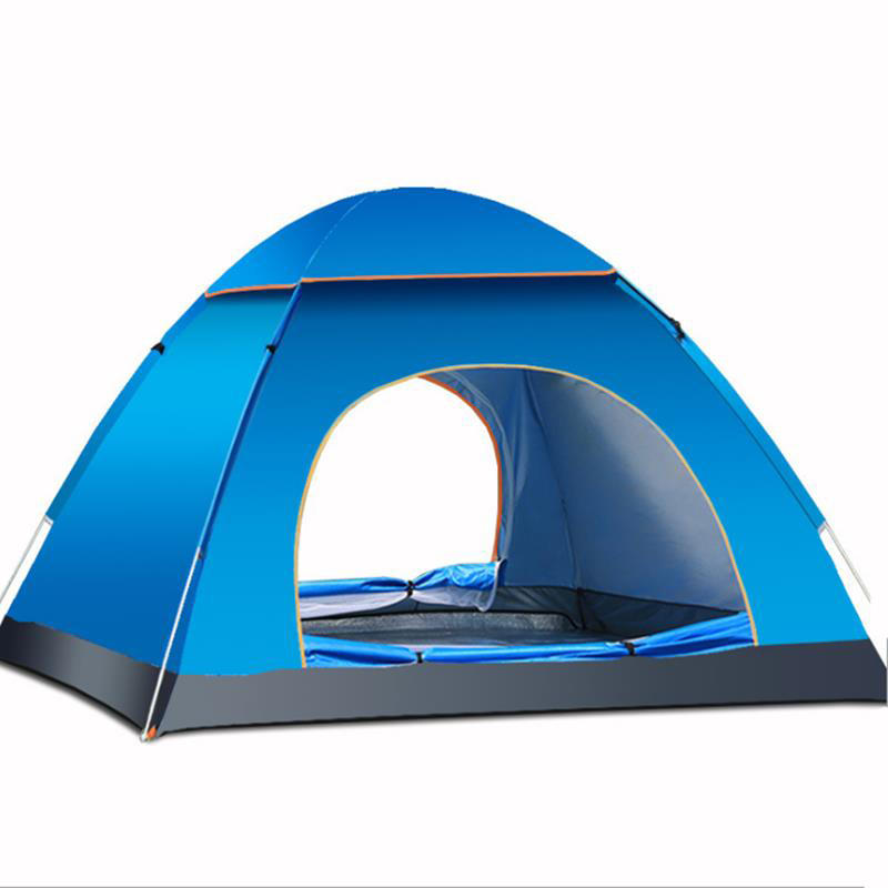 save off 22c56 e12d5 Outdoor 3-4 Persons Camping Tent Automatic Quick Open Waterproof UV  Sunshade Canopy