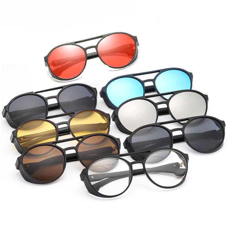 केसीएएसए फैशन धूप का चश्मा पुरुष महिला पंक रेट्रो रेट्रो धूप का चश्मा विरोधी यूवी