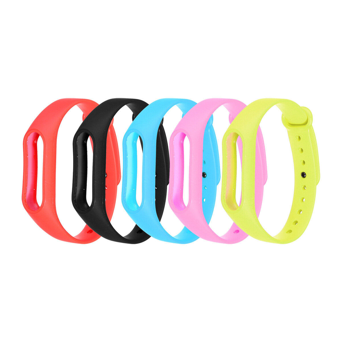 KALOAD Colorful Wristband Watch Band Breathable Sweat Smart Watch Strap Replacement for M2 Smart Watch