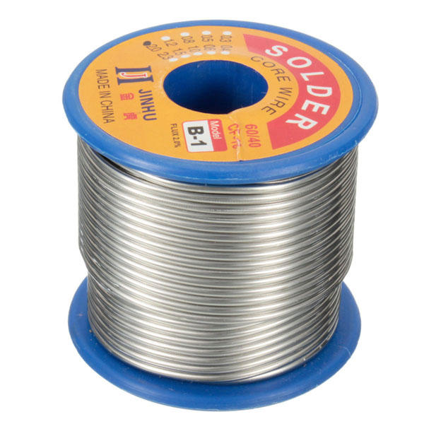 250g 2mm 60/40 Rosin Core Solder Tin Lead Soldering Wire Reel Wiring Without Solder on