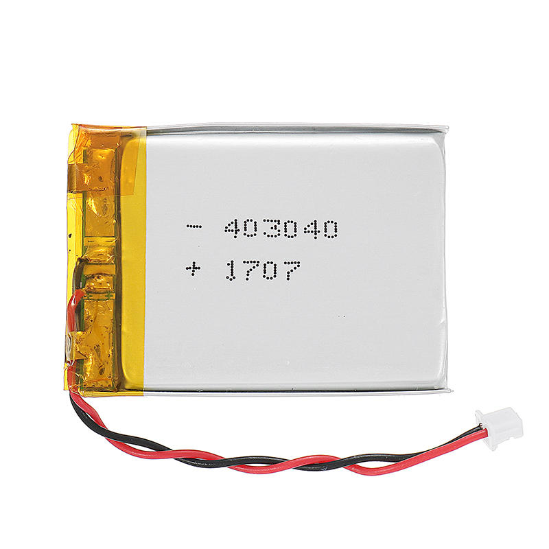Pin LiPo 3.7V 500mAh Molex Pico 1.25mm Kết nối 2P cắm phổ biến cho Eachine TX06 TX805 TX02 VR006 VR005 FPV Goggles VTX CAM