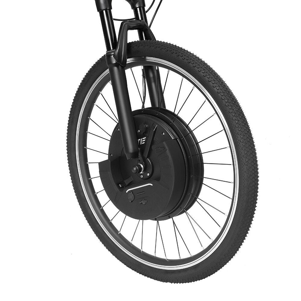 LAOTIE® EW-DP5 Throttle Type 26in/700C Universal 36V 7.2Ah 500W Intelligence Bicycle Wheel Brushless Motor Front Wheel for Electric Bike
