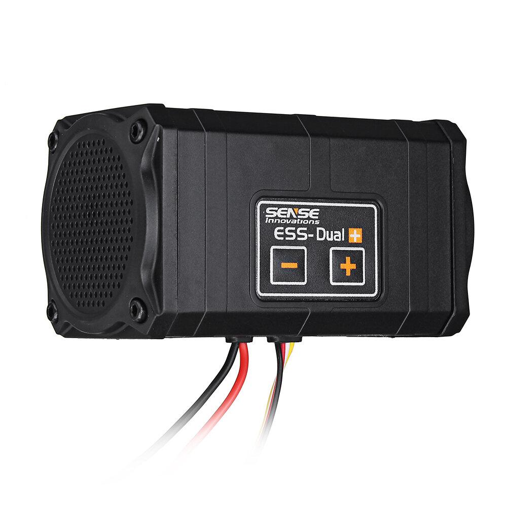 Sense Innovations ESS-DUAL 2 SPEAKERS Motorljud Simulator För Axial SCX 10 II WRAITH Traxxas TRX4