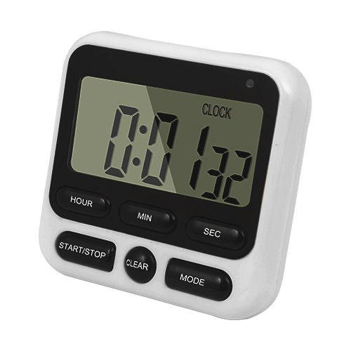 Loskii KC-05 Upgraded 24-Hours Digital Kitchen Clock Cooking Timer Countdown Multifunction with