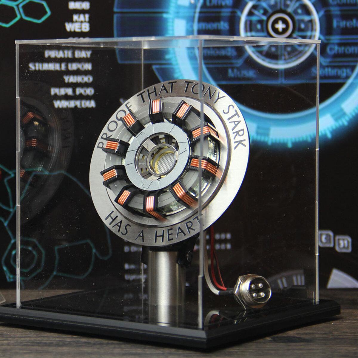 In Stock 1:1 Arc Reactor DIY Model MK2 Led Light Mark Chest Tony Heart Lamp Light DIY Model Science Toy