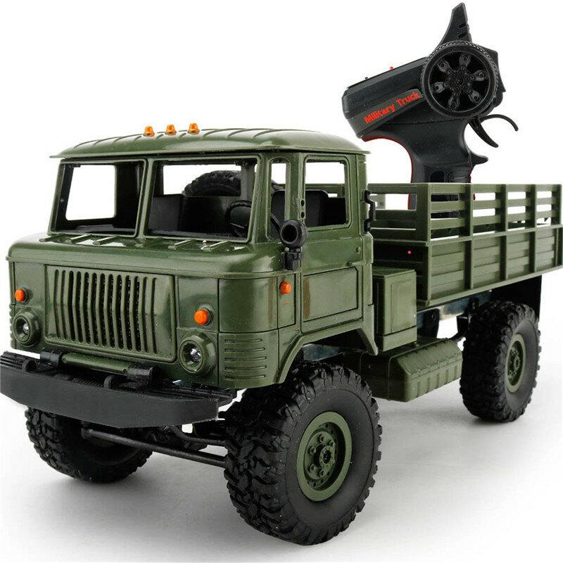 Военный грузовик ГАЗ-66 бортовой WPL B24 1/16 2.4G 4WD RTR
