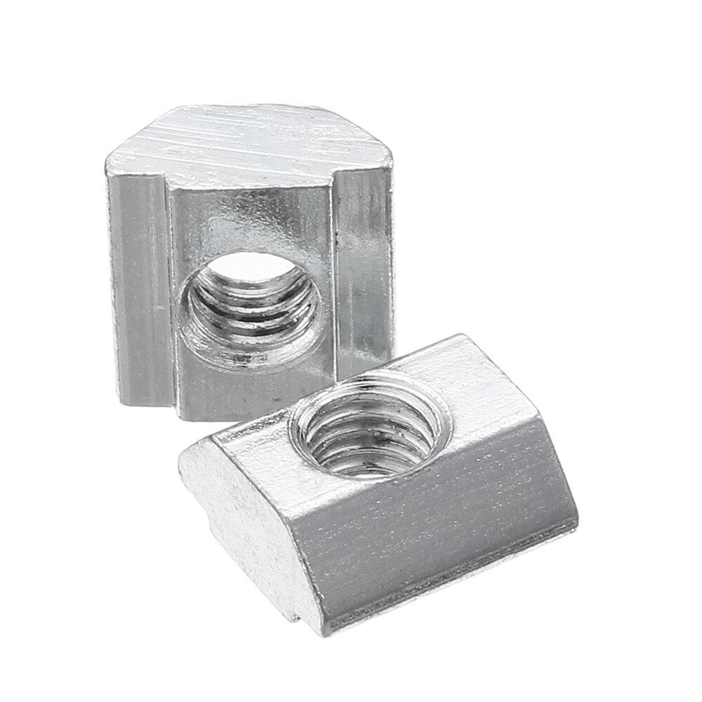 10Pcs M5 Sliding T Nut For 2020 Series T Slot Aluminum Profile CNC Engraver Printer