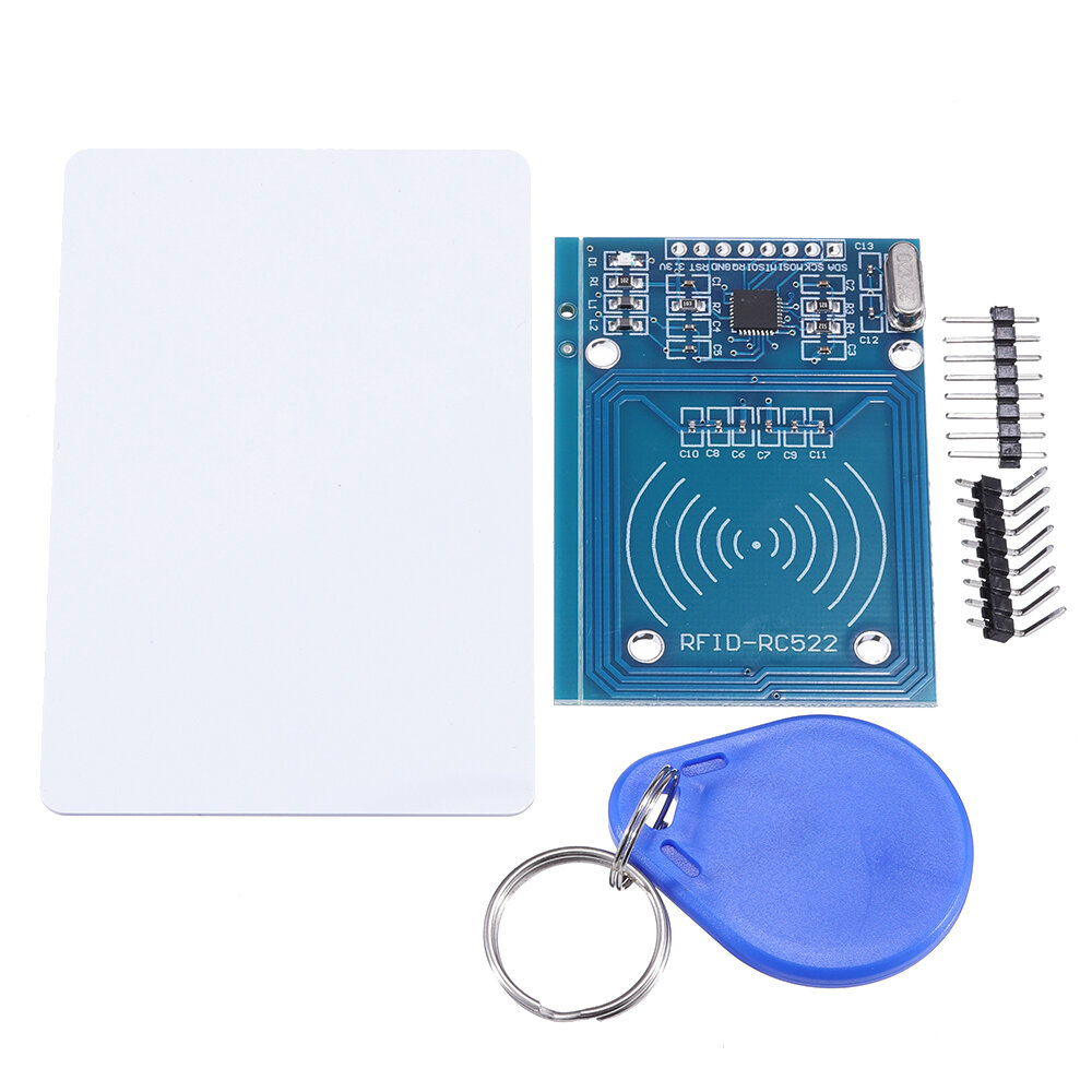 RC522 RFID RF IC Card Sensor Module Writer Reader IC Card Wireless Module Geekcreit for Arduino - products that work with official Arduino boards