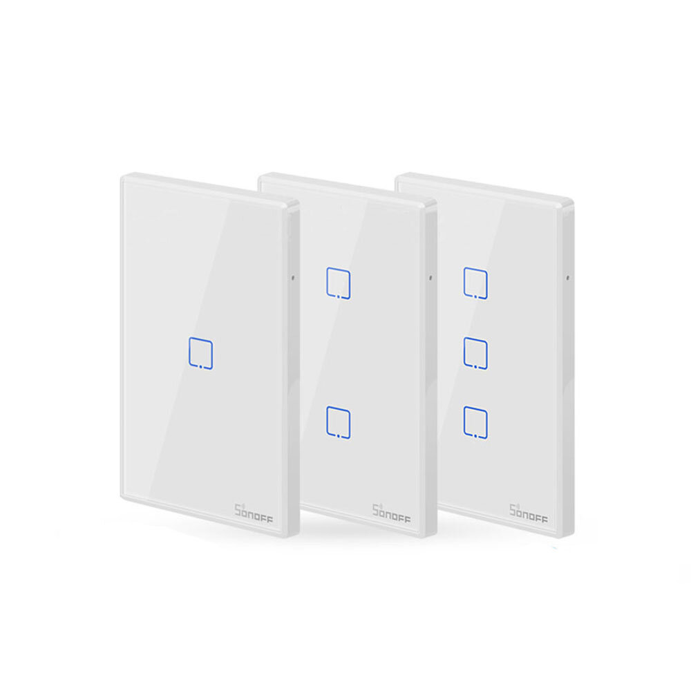 Sonoff T2 1 Gang Tx 433mhz Wifi Wall Switch   14 39