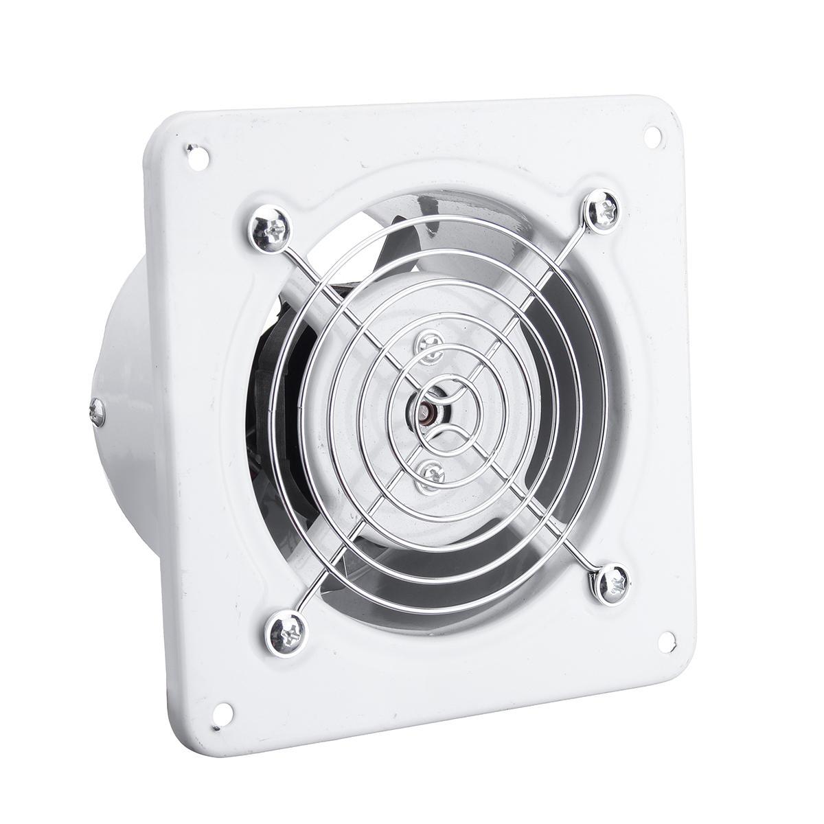4 Inch Silent Ventilation Fan Bathroom Garage Exhaust Fan Ceiling