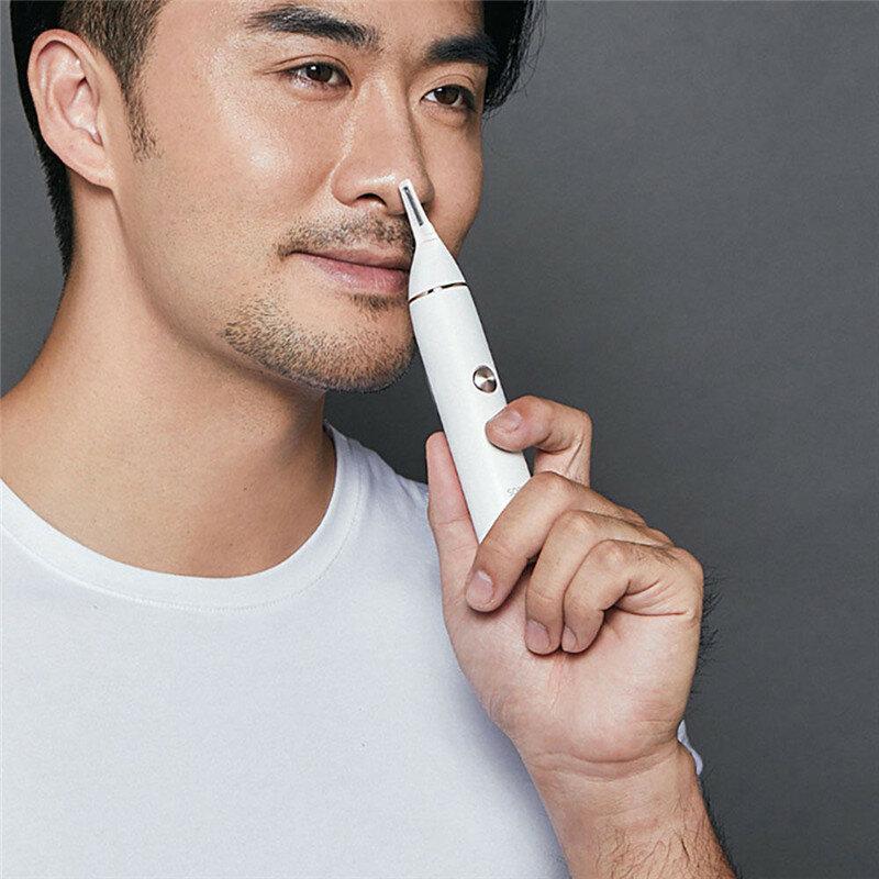 SOOCAS Burun Saç Kesme Kaş Clipper Sharp Blade Xiaomi Ekosisteminden Akülü Burun Temizleyici