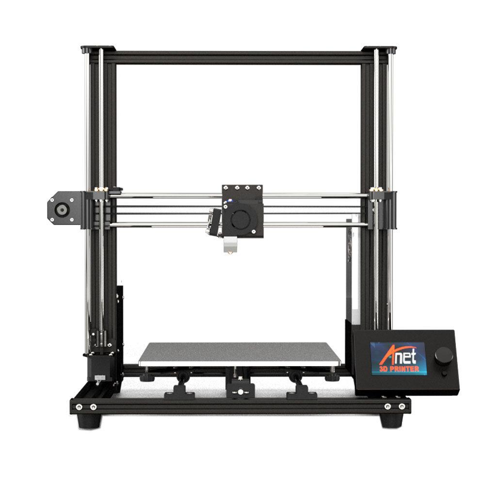 Anet® A8 Plus Kit d'imprimante 3D DIY de taille d'impression 300 * 300 * 350 mm avec écran amovible magnétique et réglage de la courroie de support du double axe Z