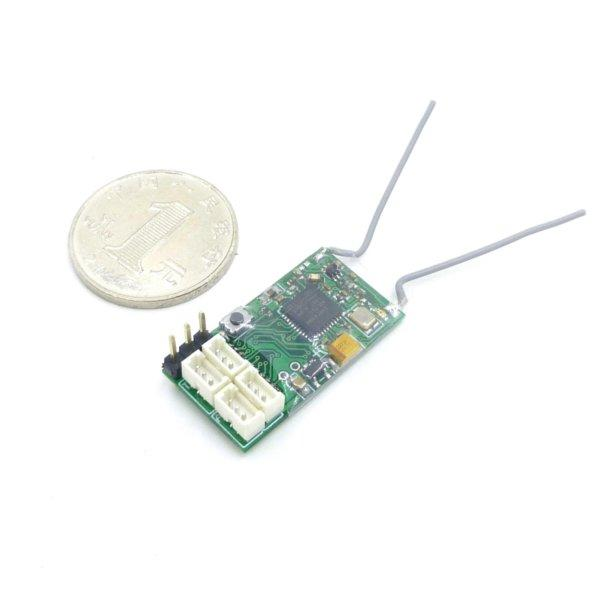 CM410X 2.4G 4CH DSM2 DSMX Compatible Receiver With PPM Output For Radio Transmitter