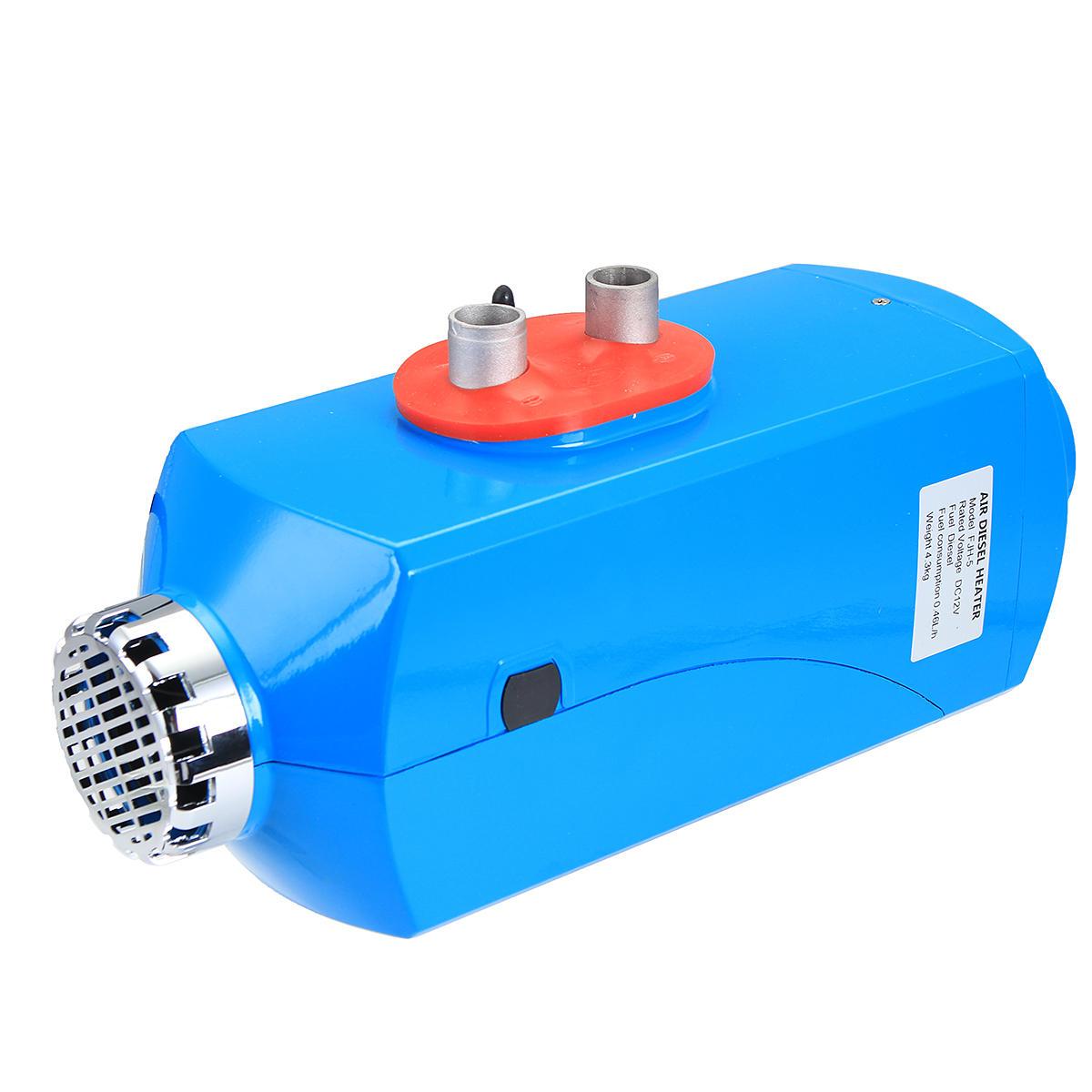 12V 5kw Diesel Air Parking Heater Diesel Heating Air Heater with Digital Switch