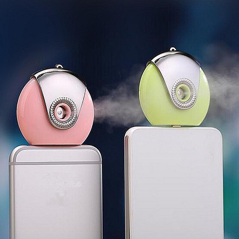 携帯電話ミニ加湿器ポータブルディフューザーモイスチャライジングアロマスプレーアンドロイド携帯電話のスキンケア