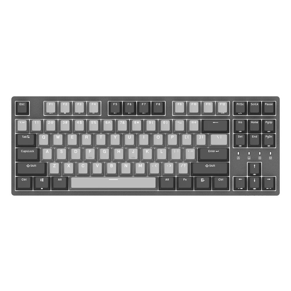 DURGOD K320 Corona Cherry MX Brown Red Blue Switch PBT Keycaps Mechanical Gaming Keyboard