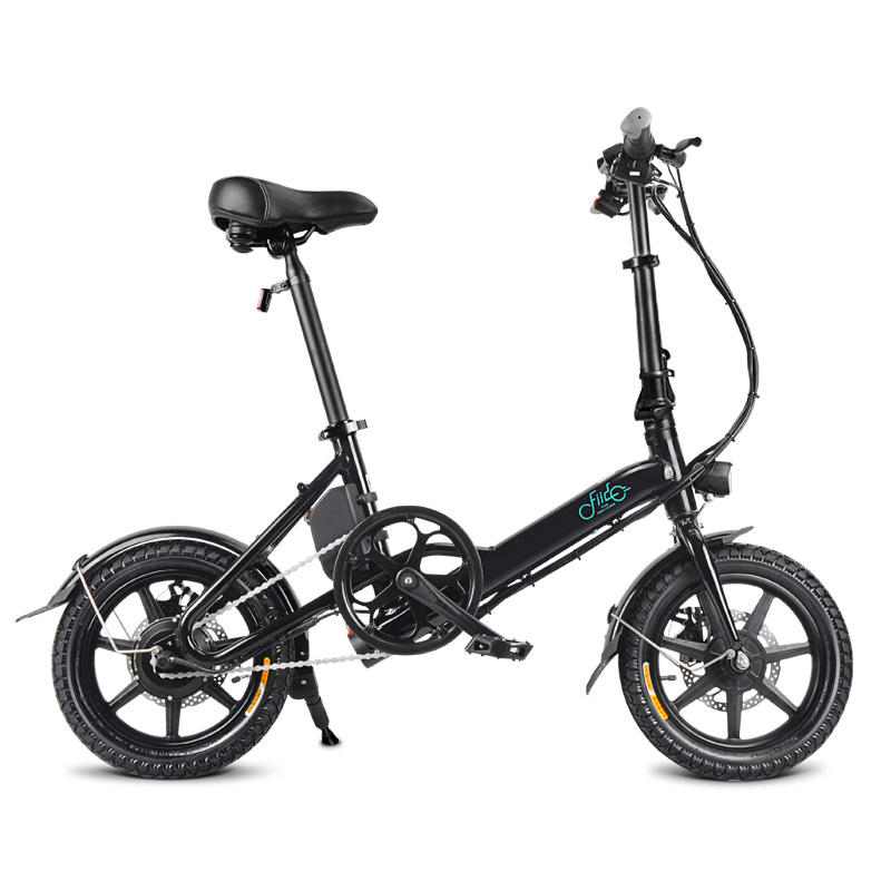 FIIDO D3 36V 5.2Ah 250W 14 Inches Folding Moped Bicycle 25km/h Max 35KM Mileage Mini Electric Bike