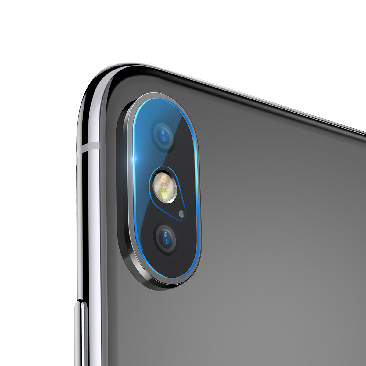 wholesale dealer a6b84 449d6 Baseus 0.2mm Clear Scratch Resistant Rear Camera Lens Tempered Glass  Protector For iPhone XS Max 6.5