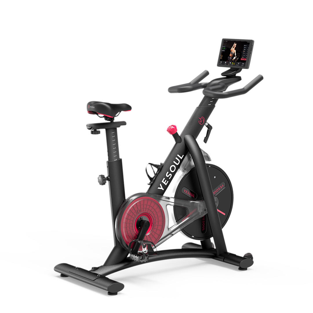 YESOUL M3 Electric Bike Indoor Exercise Bike Intelligent Sports Fitness Spinning Bike With Training Computer YESOUL 10.1 Inches Panel Display Support Android From Xiaomi Youpin