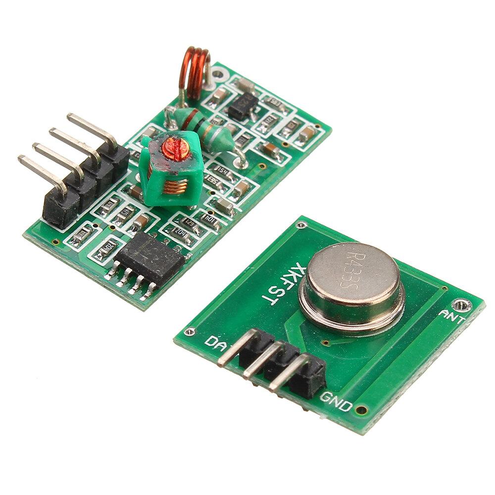 433Mhz RF Decoder Transmitter With Receiver Module Kit For Arduino ARM MCU  Wireless