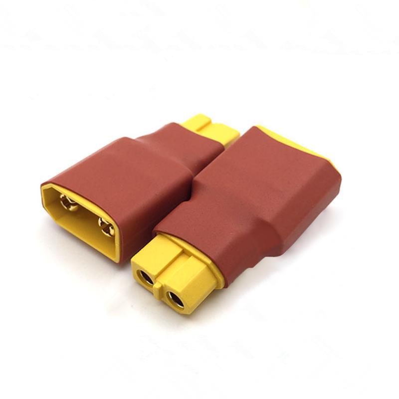 Картинка - Amass Коннектор XT60 Женский до XT90 мужского для RC зарядное устройство