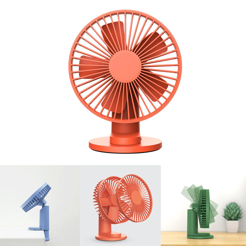 Xiaomi VH 2 In 1 Clip-on Table Desktop USB Fan 90° Rotatable 3 Modes Wind Speed Cooling Fan Outdoor Travel
