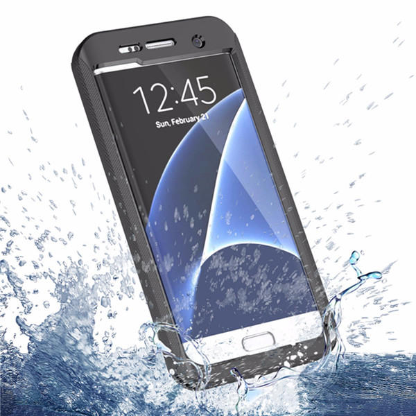 separation shoes 7a12e 0bfa9 Waterproof Shockproof Cover Case w/ Strap For Samsung Galaxy S7 Edge
