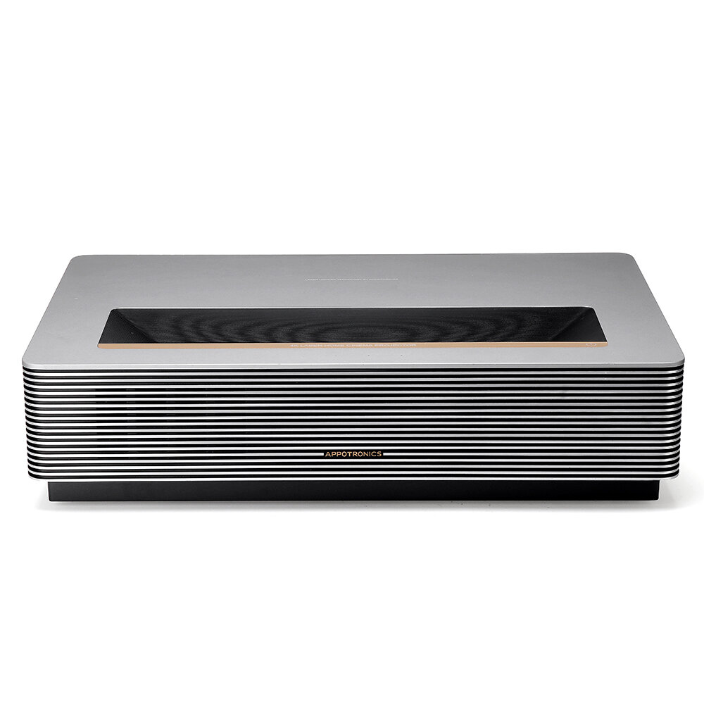 Xiaomi Ecosystem WEMAX APPOTRONICS D30 L306ACF Real 4K UHD Laser TV Theatre Projector Ultra Short Throw 12500 ANSI Lumens 400nit HDR10 ALPD 3.0 Smart FENGMI OS Android System WIFI Bluetooth Built-in Dolby DTS Sound Home Movie Projector