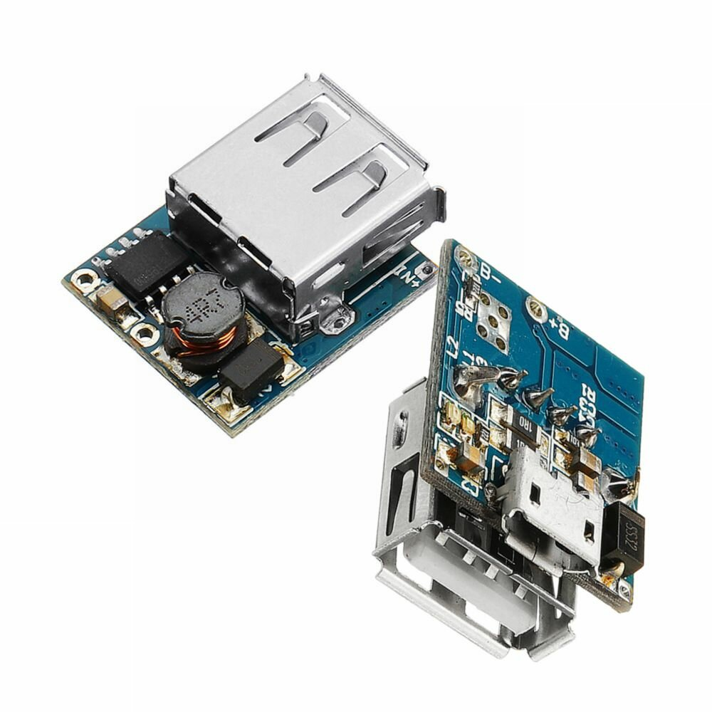 Protection in one Board Module 2pcs 5V MICRO USB 1A Lithium Battery Charging