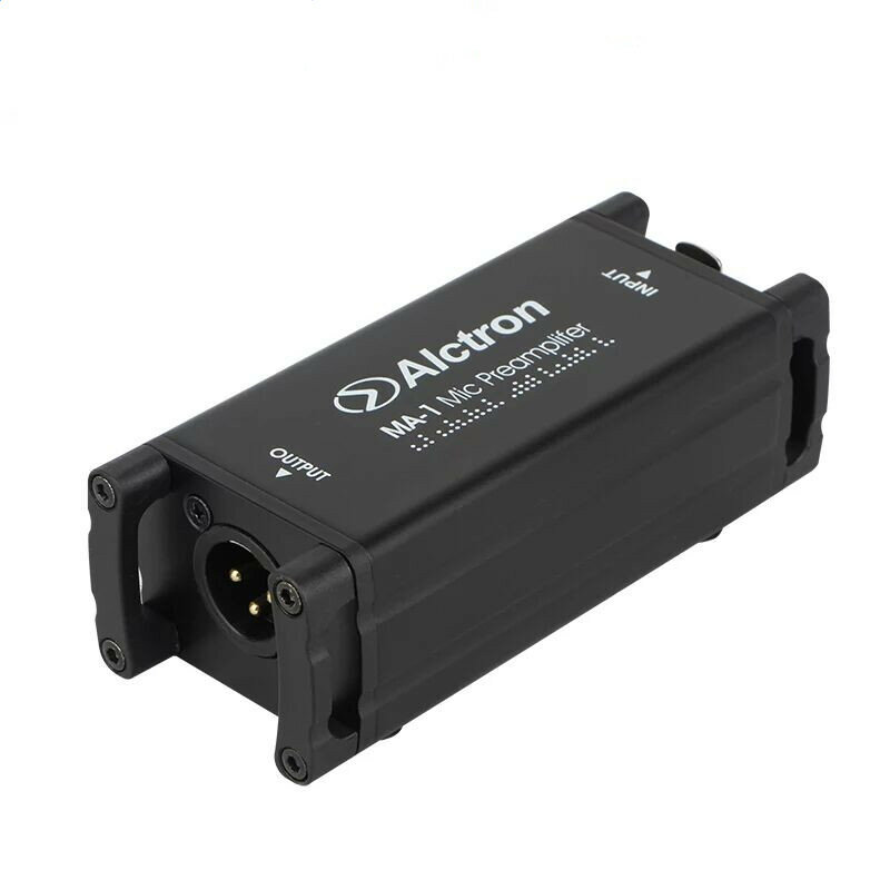 Alctron MA-1 Dynamic Passive Professional Amplifier Speech Amplifier Gain Increase for Microphone Live Broadcast Singing