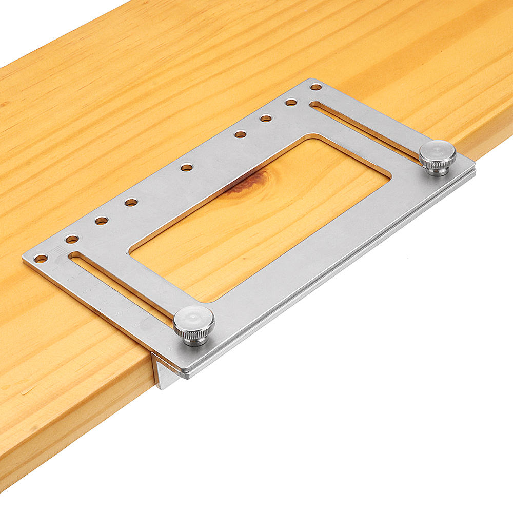 Door Furniture Handle Hole Punch Locator Wood Drilling Anchor Guide Drilling Woodworking Tools