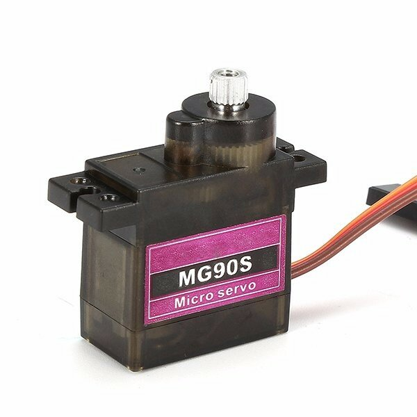 MG90S Metal Gear RC Micro Servo 9g for ZOHD Volantex Airplane RC Helicopter Car Boat Model