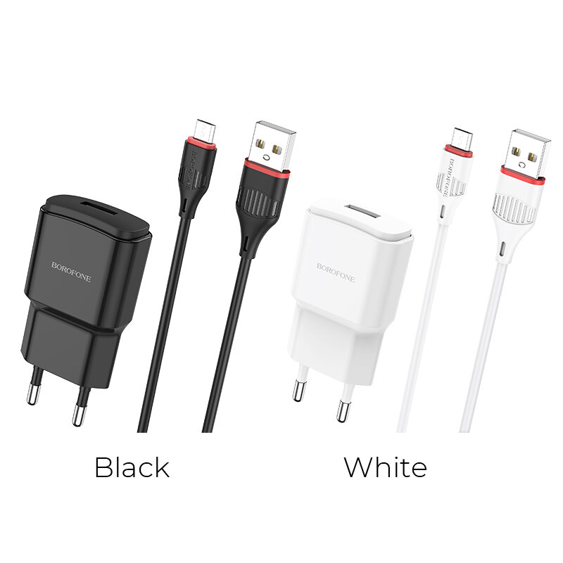 HOCO BA48A USB Charger Wall Charger Adapter Fast Charging For iPhone XS 11Pro Huawei P30 P40 Pro Xiaomi MI10 Redmi Note
