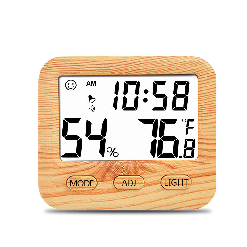 Minleaf CH-915 Digital Hygrometer Indoor Thermometer Humidity Monitor with Temperature Humidity Gauge