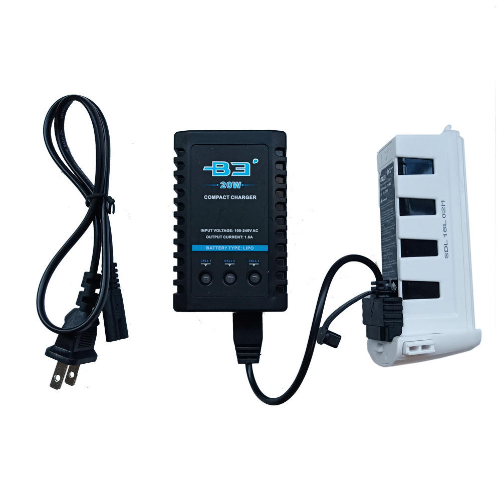 B3 20W 1.6A Balance Charger for Hubsan Zino H117S RC Quadcopter