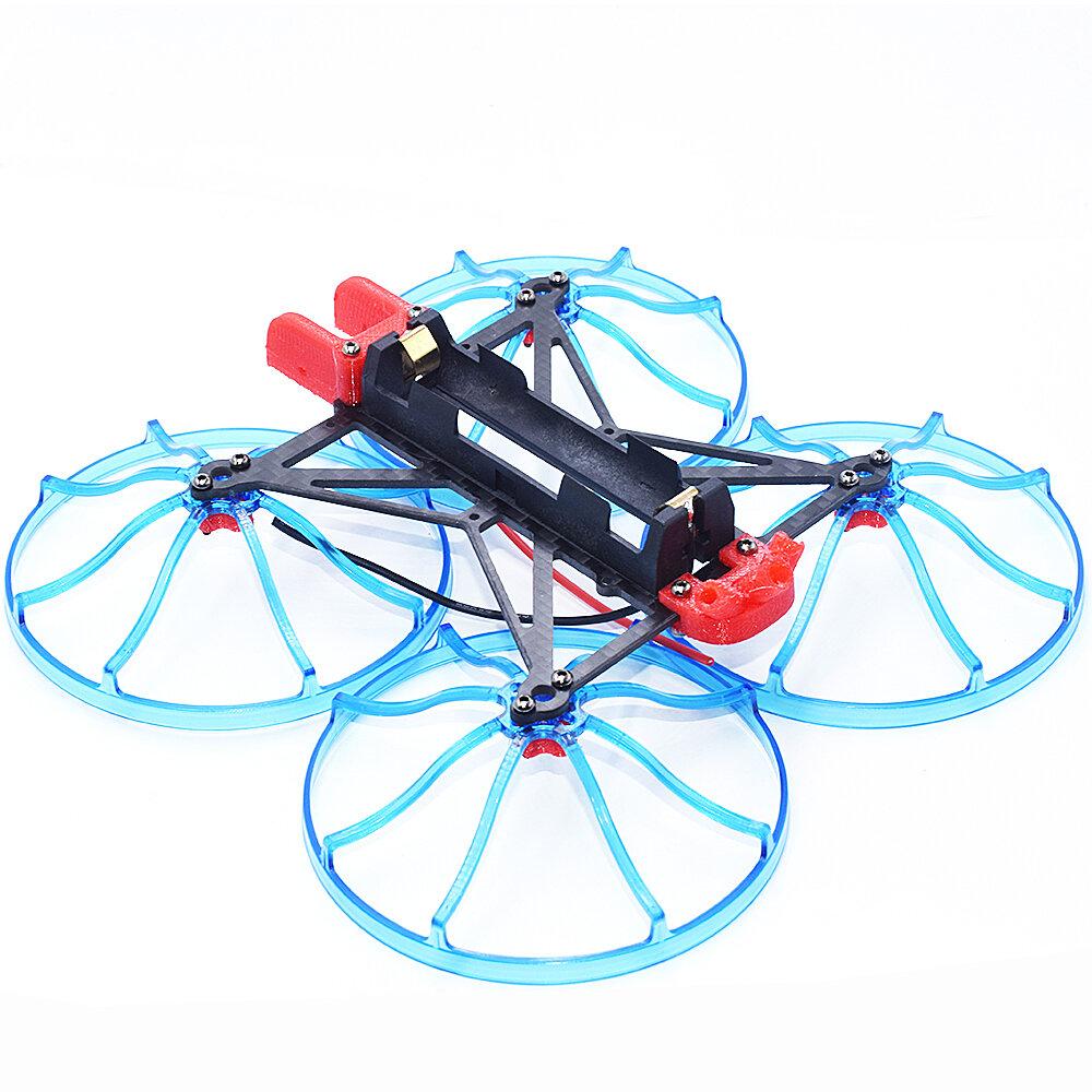 AuroraRC R18650 120mm Wheelbase 1S 3 Inch Long Range Frame Kit for FPV Racing RC Drone