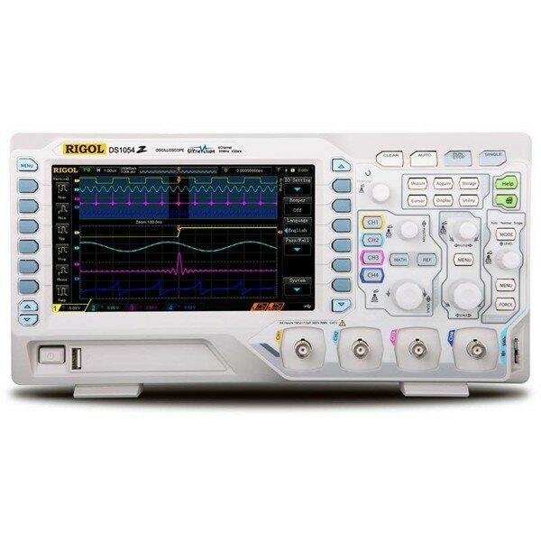 RIGOL DS1054Z Digital 4 Channels 50MHz Bandwidth 1GS/s 7inch WVGA 12Mpts  30,000wfm Oscilloscope