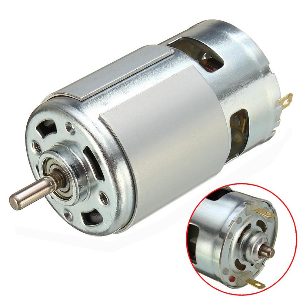 437bffdaa 775 Motor DC 12V-36V 3500-9000RPM Motor Large Torque High Power Motor
