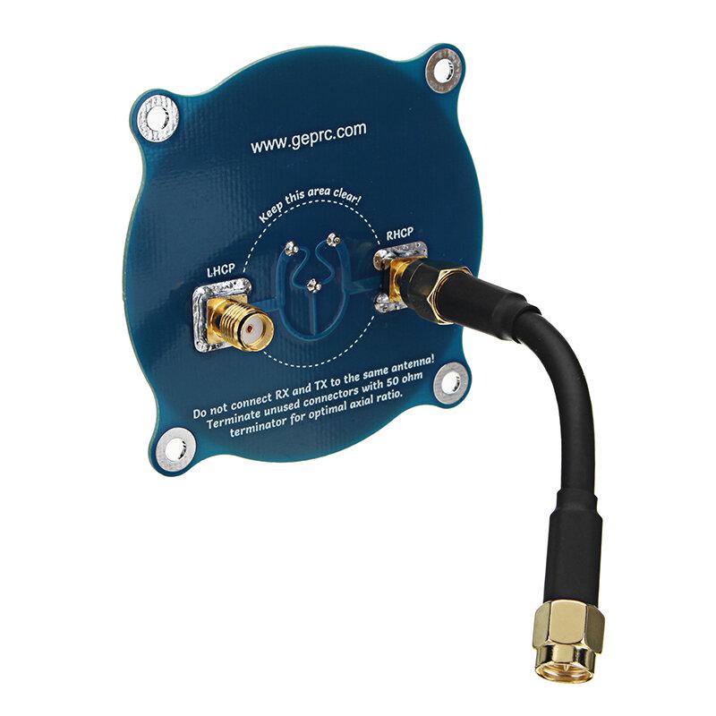 GEPRC Üçlü Besleme Yaması-1 5.8G 9.4dBi FPV LHCP RHCP SMA RC Drone için Reveiver Anten
