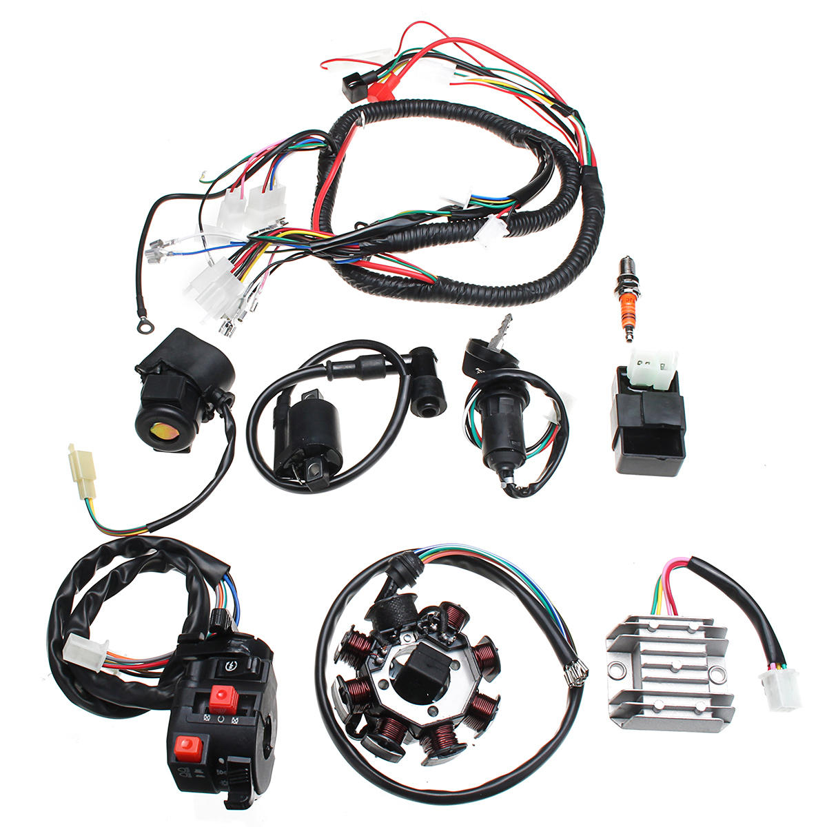 250cc Wiring Harness | Wiring Diagram on