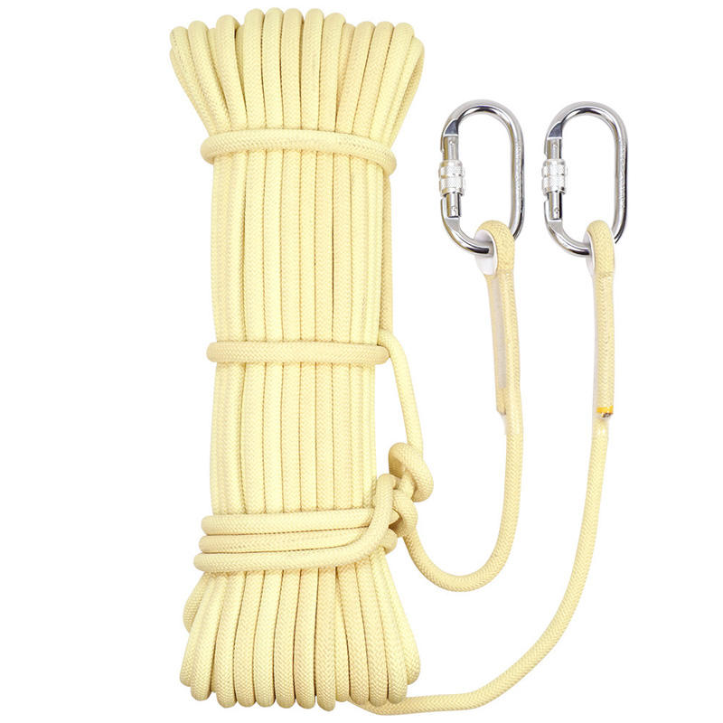 CAMNAL 1-20m 8mm Outdoor Rock Climbing Fast-rope Emergency Reserve Fire Rope Descent Device Rope