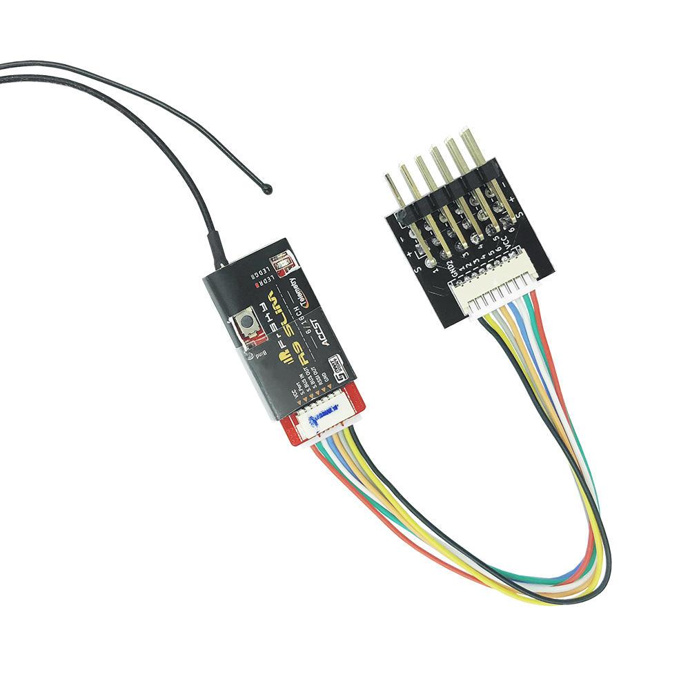 Bộ tiếp nhận hỗ trợ Bộ tiếp nhận tín hiệu PWM cho TBS Crossfire Nano RX FrSky R9 Slim Slim + Bộ thu