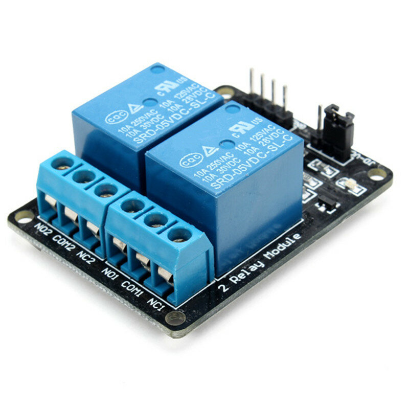 DC5V 2 Way 2CH Channel Relay Module With Optocoupler Protection