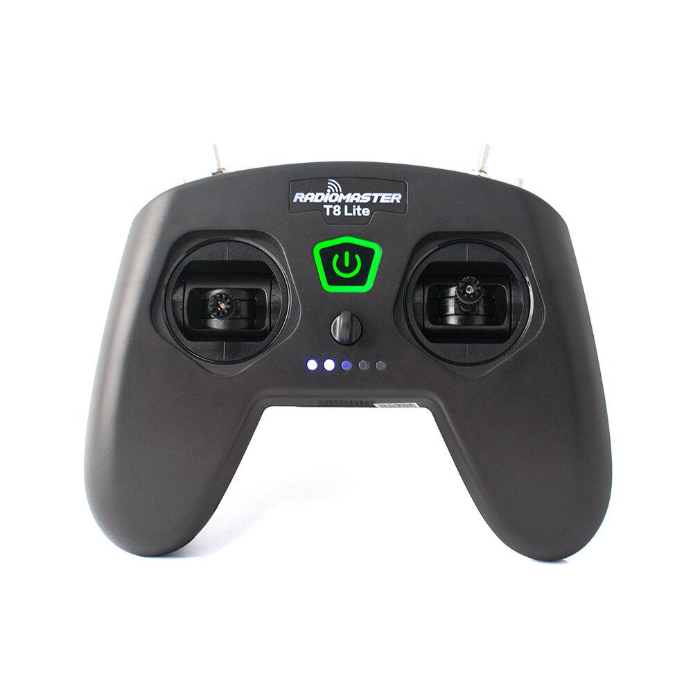 RadioMaster T8 Lite V2 2.4GHz 8CH CC2500 D8 D16 V1 Protocol Potentiometer Sensor Gimbal USB-C Charging Radio Transmitter