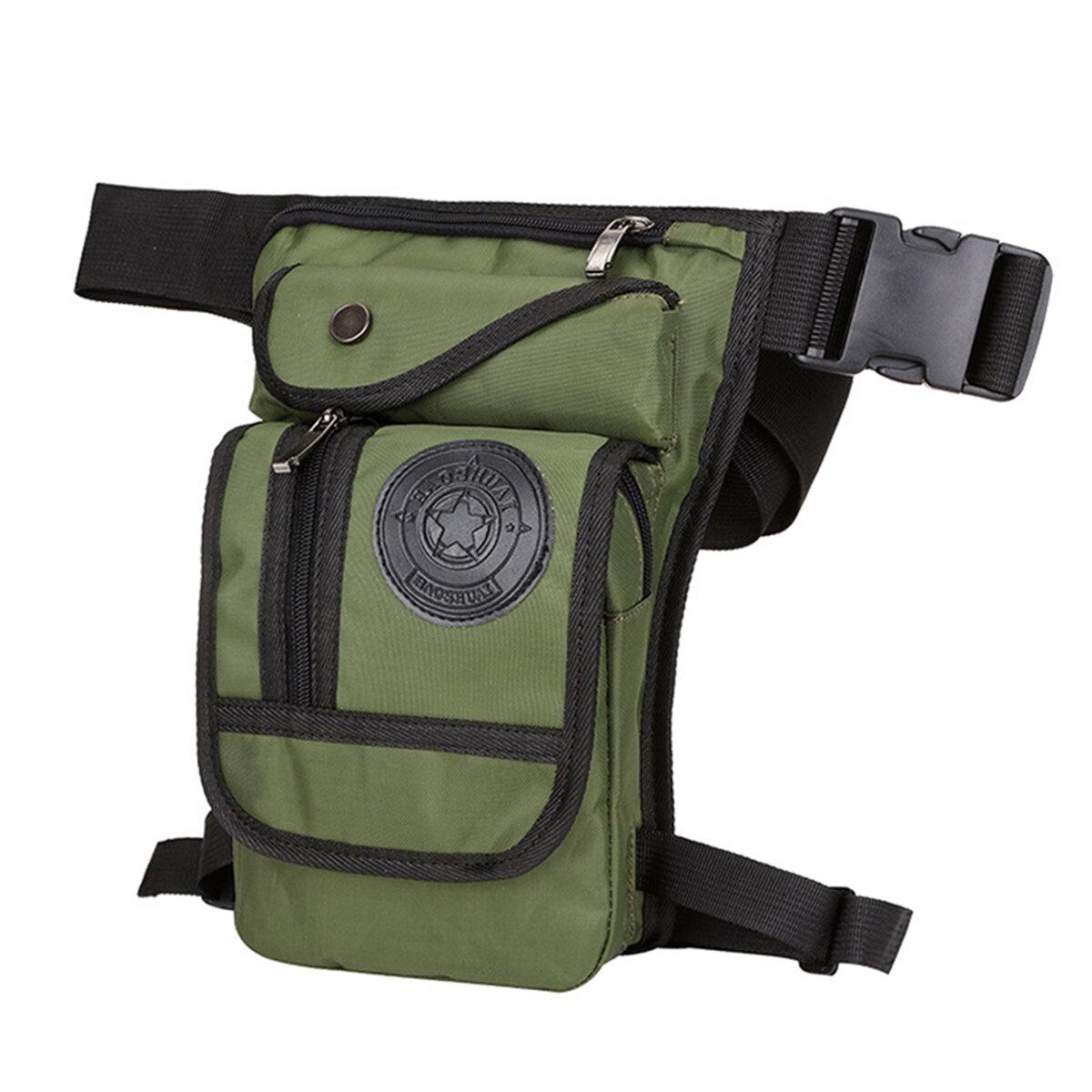 Men Drop Leg Bag Tactical Waist Fanny Pack Belt Motorcycle Multi-purpose Bag New