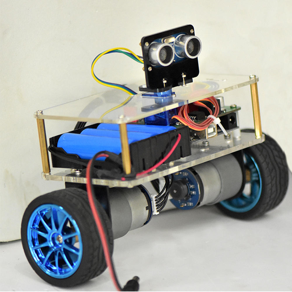 DIY STEAM Arduino UNO Smart RC Robot Balance Car Educational Kit